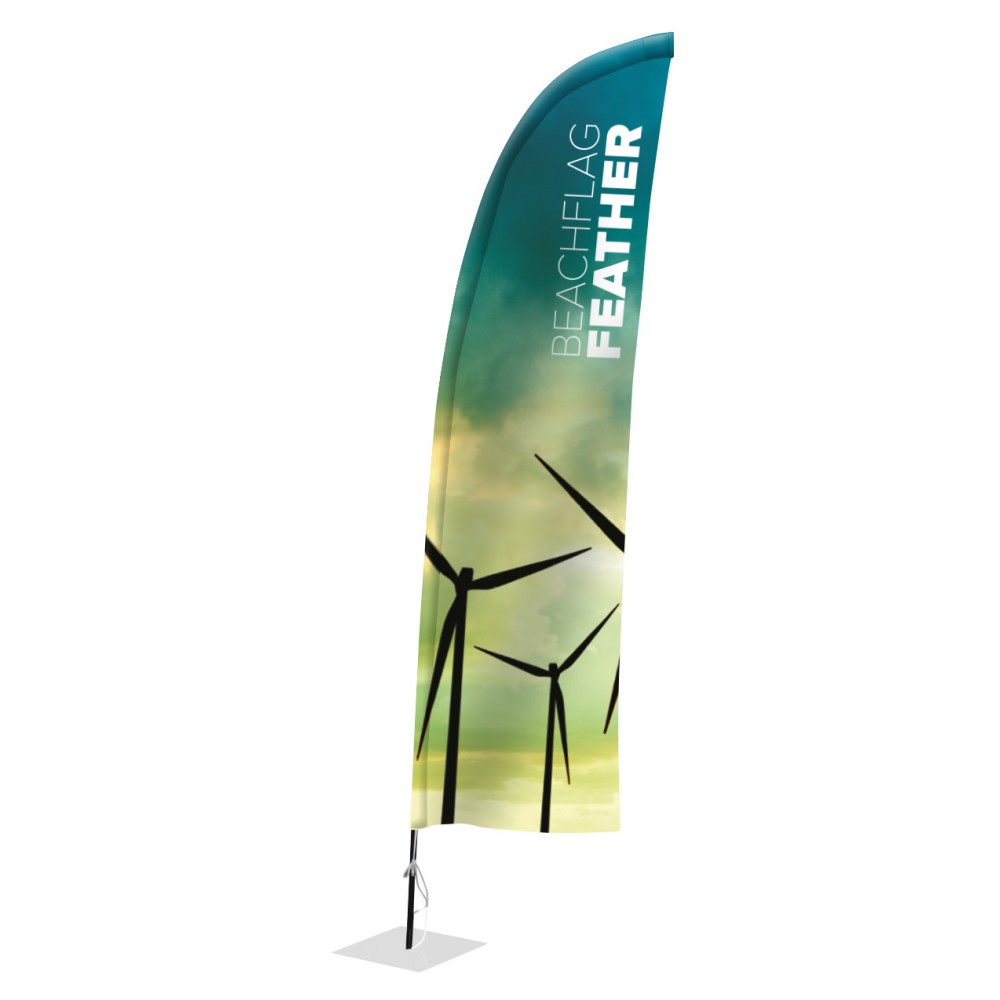 Feder Fahne Beachflag - Madness Advertising e.U.